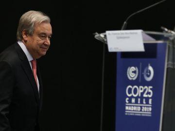 El Secretario general de las Organización de las Naciones Unidas, el portugués Antonio Guterres