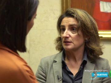 Teresa Ribera hace autocrítica: ¿es coherente el ministerio de Transición Ecológica con la lucha contra el cambio climático?