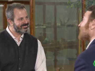 """Manuel Burque se enfrenta a un meteorólogo para defender que """"el cambio climático es un timo"""""""