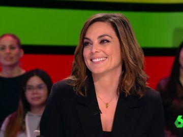 Mónica Carrillo visita el plató de Zapeando