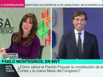 """Pablo Montesinos: """"Por culpa de Vox, hoy la izquierda está más representada en la Mesa"""""""