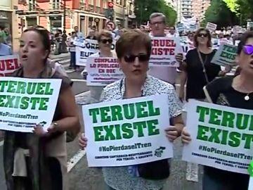 La eterna lucha de 'Teruel Existe', o cómo una movilización ciudadana logró irrumpir en la política 20 años después