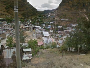 Imagen de Hualgayoc, (Perú) zona donde vivía la familia.