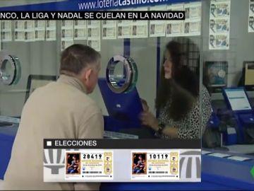 La exhumación de Franco, las elecciones y Nadal se cuelan en la Lotería: estos son los números más buscados