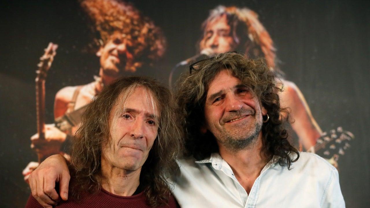 Los líderes de Extremoduro, Robe Iniesta e Iñaki Antón