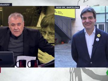 """Sergi Sabrià (ERC): """"A esta hora, las conversaciones con el PSOE están suspendidas"""""""