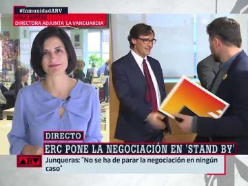 """Lola García, sobre la investidura: """"Nos vamos al año que viene, seguro"""""""