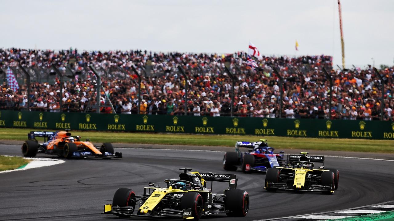 El Circuito de Silverstone siempre es un éxito de publico