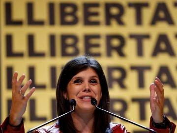 Marta Vilalta, responsable de las negociaciones de investidura
