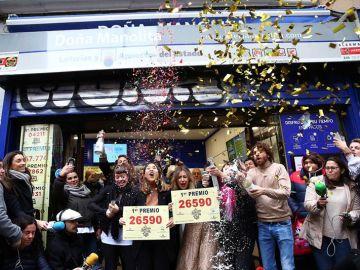 Primer premio Lotería de Navidad