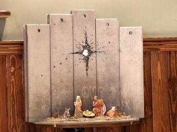 'La cicatriz de Belén' de Banksy