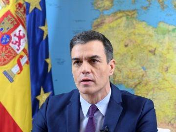 """Sánchez, a las tropas españolas en el extranjero: """"Os queremos sanos y salvos"""""""