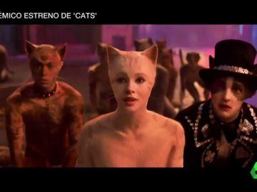 Polémico estreno de 'Cats': el uso desmedido de los efectos especiales llevan a hacer modificaciones en el film