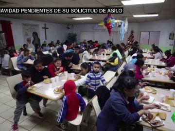 Cientos de migrantes expulsados de Estados Unidos pasan las navidades pendientes de recibir asilo