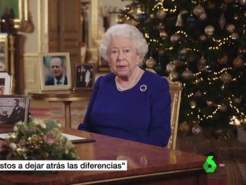 """La reina Isabel II llama a la """"reconciliación"""" tras un año """"lleno de obstáculos"""" en Reino Unido"""