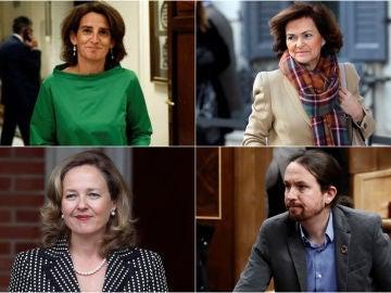 Las cuatro vicepresidencias del nuevo Ejecutivo