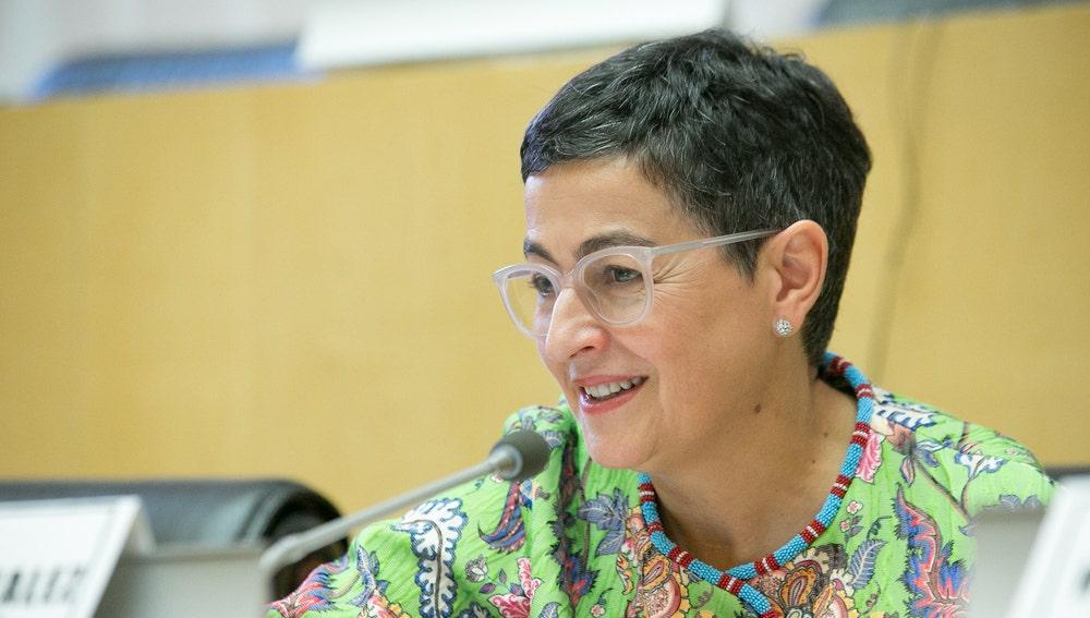 Arancha González Laya en 'SheTrades Global 2019'