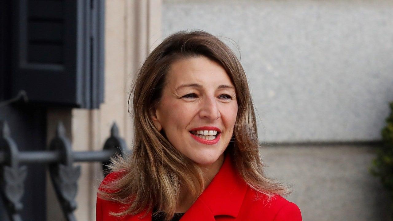 Yolanda Díaz, ministra de Trabajo y Economía Social