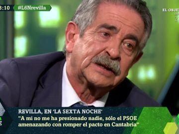 """Revilla se emociona tras haber sido acusado de votar 'no' a Sánchez por presiones: """"A mí no me presiona ni Dios"""""""
