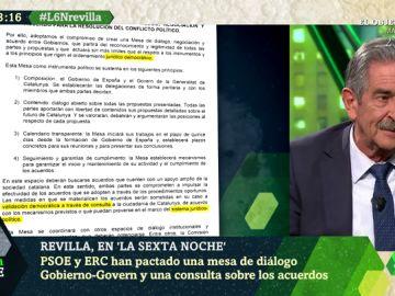 """Revilla analiza el acuerdo entre PSOE y ERC: """"Mientras no se modifique, la Constitución es la ley que obliga a todos los españoles"""""""