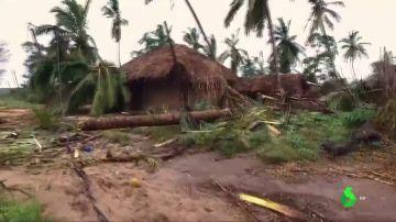 Imagen del este de África tras las lluvias torrenciales.