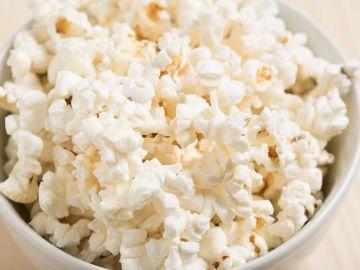 Imagen de archivo de palomitas de maíz