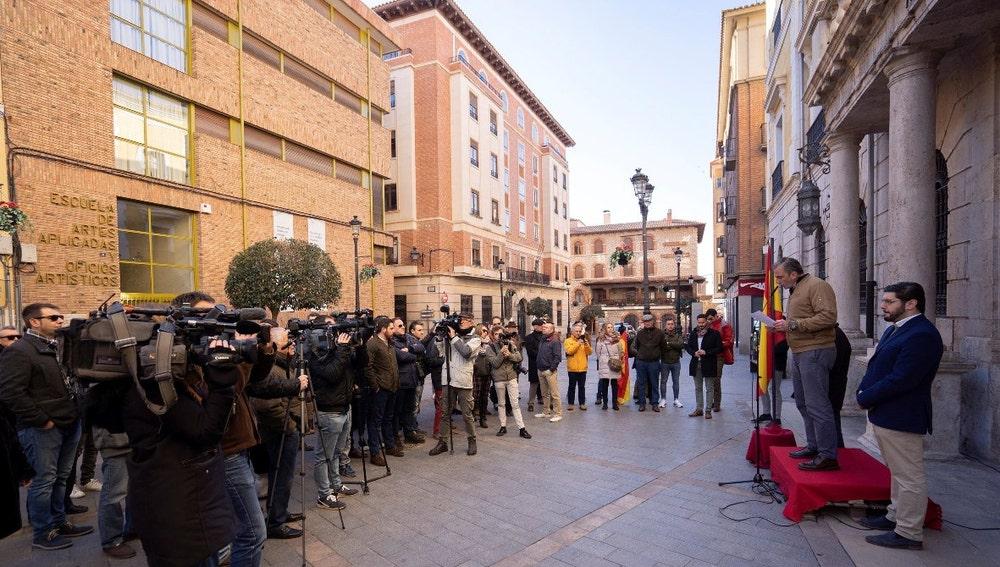 Ortega Smith en Teruel