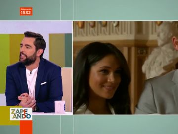 Dani Mateo habla sobre Meghan Markle y el príncipe Harry