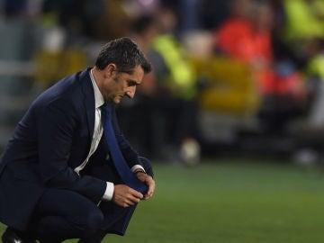 Valverde con el Barça