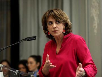 La hasta ahora ministra de Justicia, Dolores Delgado