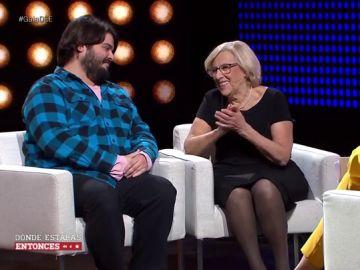 Brays Efe y Manuela Carmena
