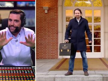 Dani Mateo analiza los 'posados' de Pablo Iglesias