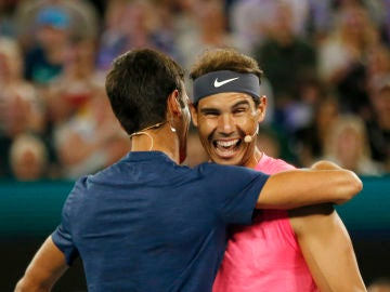 Nadal y Djokovic juntos en el dobles benéfico