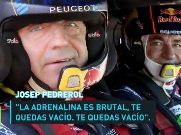 El día que Josep Pedrerol fue copiloto de Carlos Sainz, leyenda del Dakar