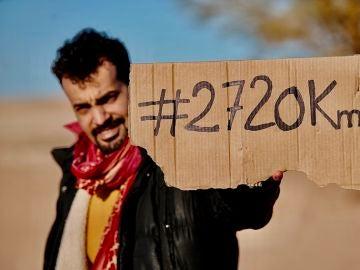 Brahim Chagaf, miembro de la plataforma 'Gritos contra el Muro'