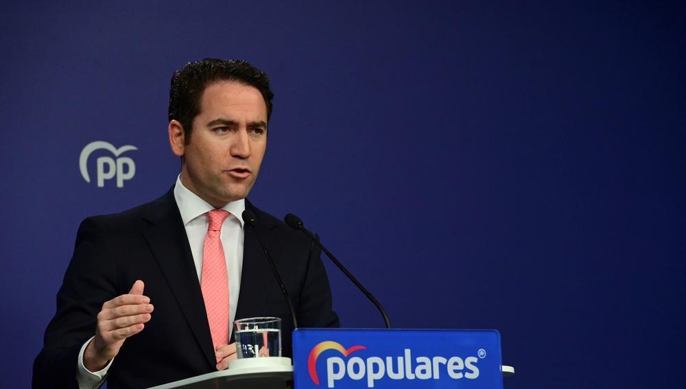 El secretario general del Partido Popular, Teodoro García Egea