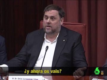 """Junqueras tira de sarcasmo con el abandono del Parlament de Lorena Roldán: """"Ahora que habíamos empezado a dialogar, ¡qué manía!"""""""