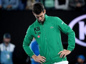 Djokovic se derrumba al recordar a Kobe Bryant