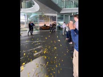 McLaren prepara un homenaje a Carlos Sainz