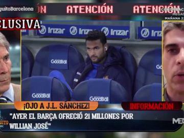 Exclusiva de José Luis Sánchez: El FC Barcelona intentó fichar a Willian José