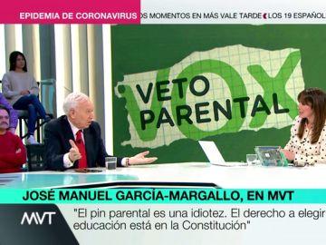 José Manuel Garcia-Margallo, en Más Vale Tarde