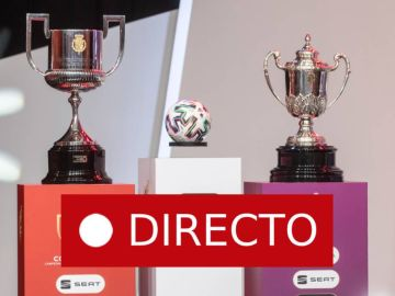 Sorteo Copa de Su Majestad el Rey de fútbol, en directo
