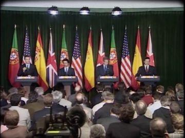 El clima social de rechazo a la guerra no evito lo inevitable: España se aliaba con EEUU y Reino Unido contra Irak