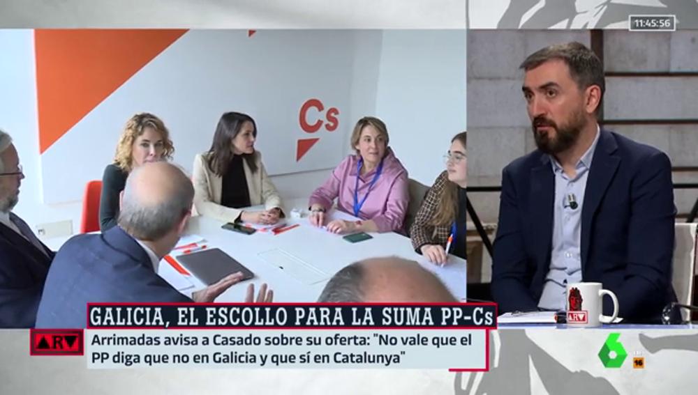 """El análisis de Escolar sobre la propuesta de Arrimadas de sumar con el PP: """"Es una alianza para la derrota"""""""