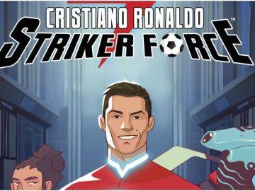 Cómic de Cristiano Ronaldo.