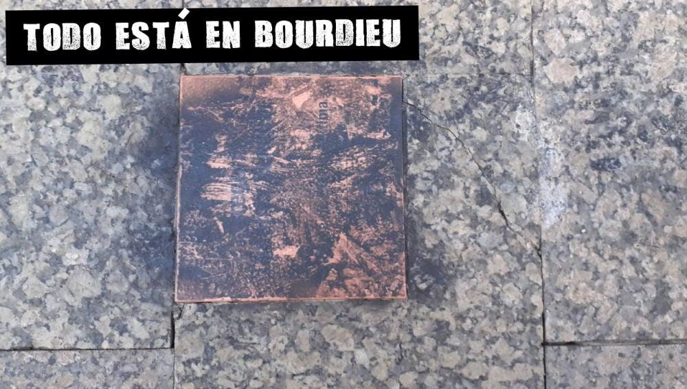 La placa en memoria de Ordóñez saboteada una semana después de su colocación