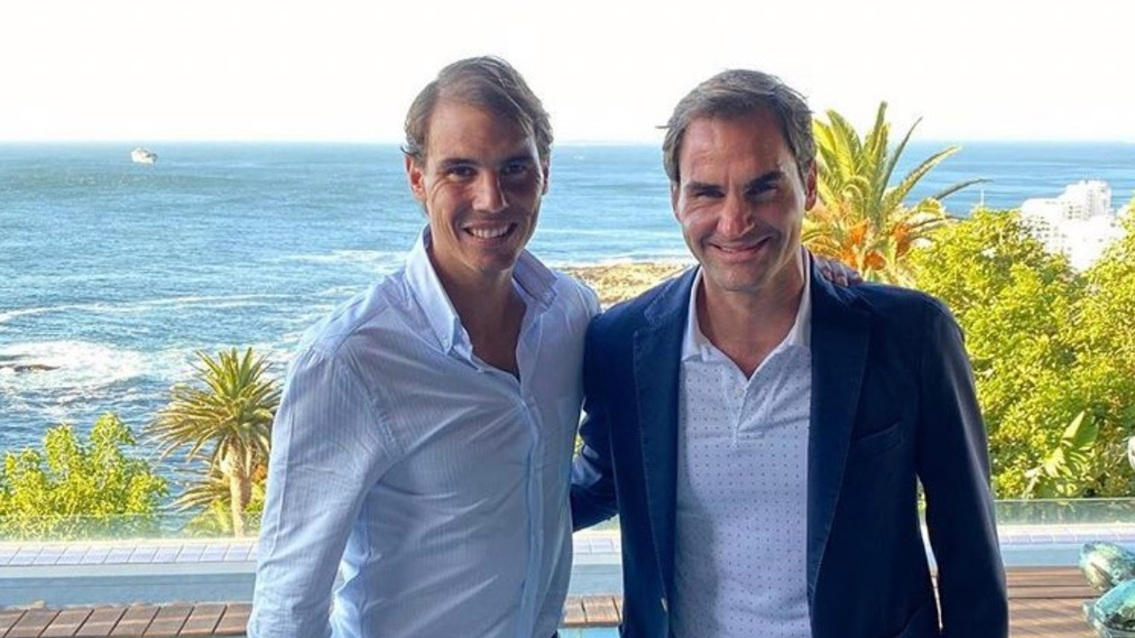 Nadal y Federer en Sudáfrica para jugar un torneo benéfico