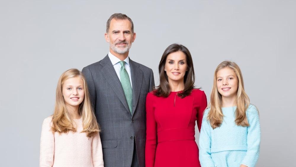 El nuevo retrato oficial de la familia real