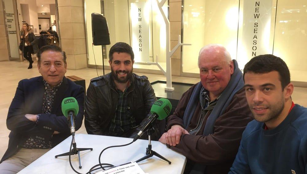 Víspera del día mundial de la radio en Mendibil