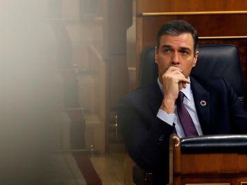 El presidente del Gobierno Pedro Sánchez